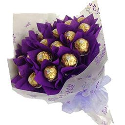 Букет из конфет заказать Киев бархат