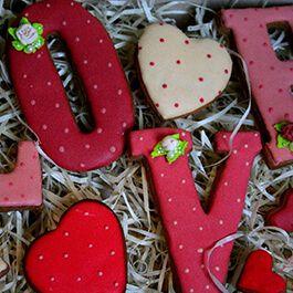 Пряники на День Святого Валентина