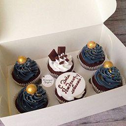 Капкейки с днем рождения