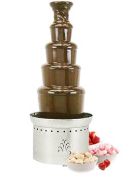 Шоколадный фонтан большой