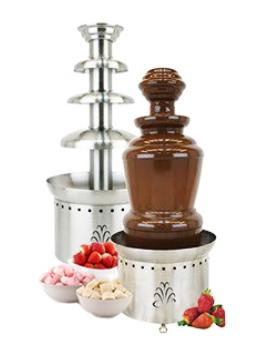 Шоколадный фонтан средний