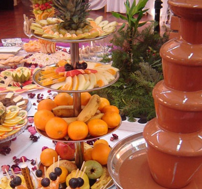 4-tiers-Fruits-Chocolate-Fountain-Party