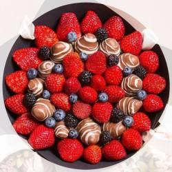 клубника в шоколаде - галвная