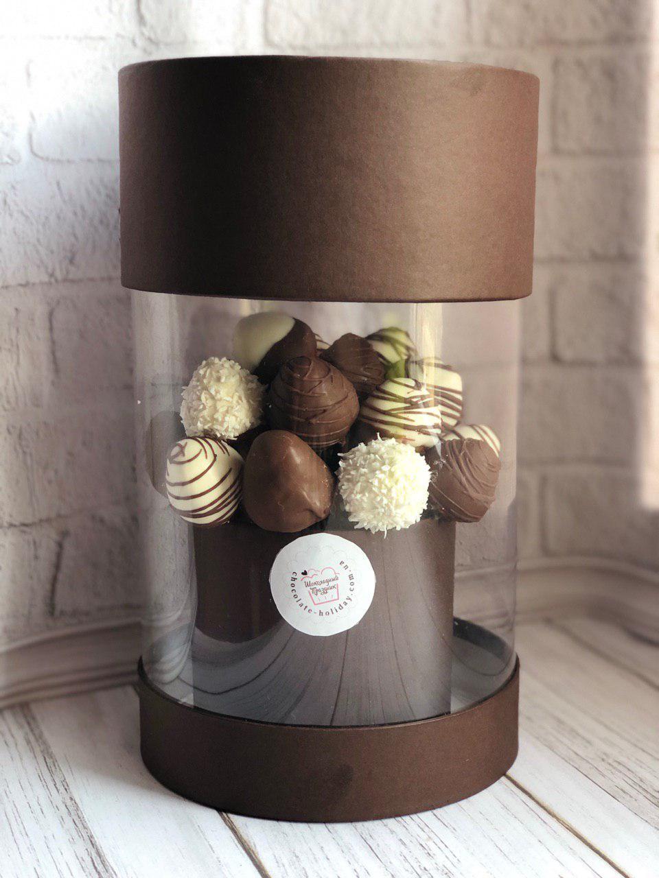 Клубника шоколадная